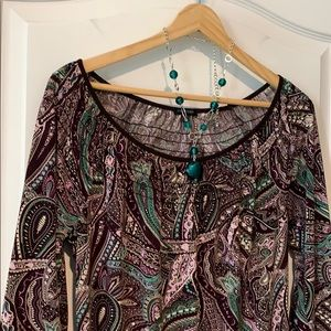 Paisley tunic, Maurices
